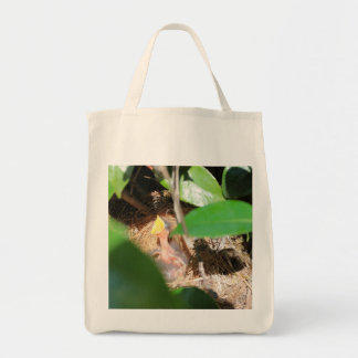 Feed Me! Grocery Tote Bag