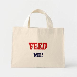 Feed Me Mini Tote Bag