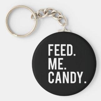 Feed Me Candy Print Keychain