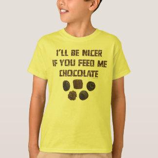 Feed Me Chocolate K Tshirt