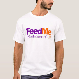 Feed Me: Delivery Parody T-Shirt