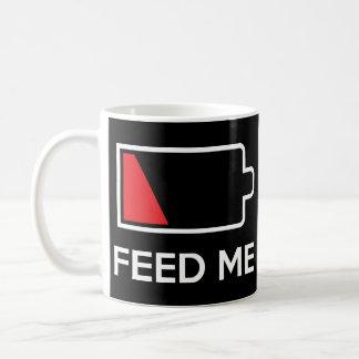 Feed Me Low Power Battery Coffee Mug