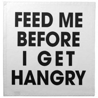 Feed Me Napkin