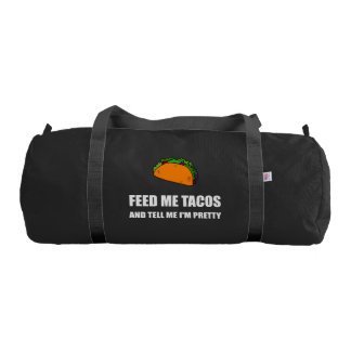 Feed Me Tacos Pretty Gym Bag