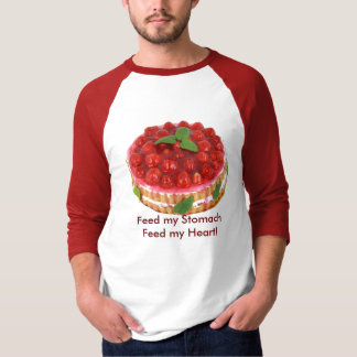 Feed My Stomach with Cake Shirt