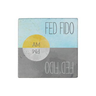 Feed Pets Rotating Kitchen Magnet Reminder Stone Magnets