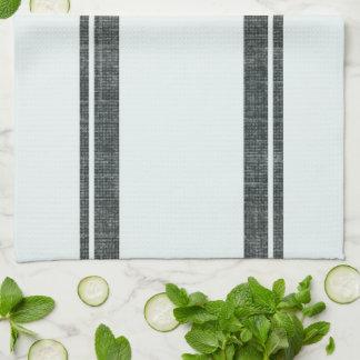 Feed Sack Style Dish Towel w Monogram