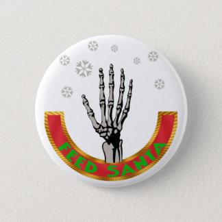 Feed Santa Claus 2 Inch Round Button