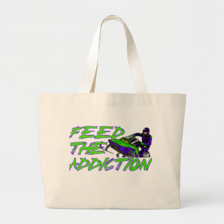 Feed The Addiction Canvas Bag