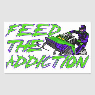 Feed The Addiction Sticker
