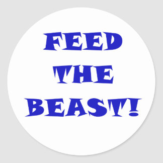 Feed the Beast Classic Round Sticker