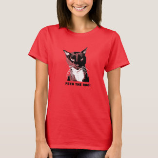 FEED THE BOO Cat T-shirt