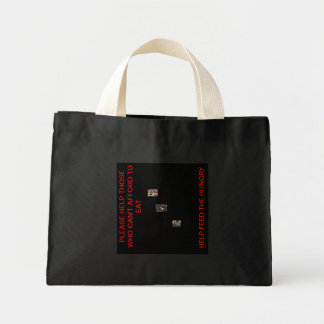 FEED THE HUNGRY CANVAS BAG