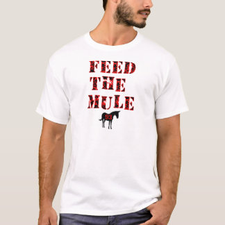 Feed The Mule Johan Franzen T-Shirt