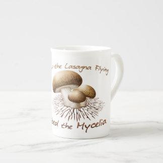 Feed the Mycelia Bone China Mug