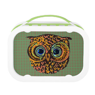 feed the owl lunchbox