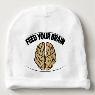 FEED YOUR BRAIN BABY BEANIE