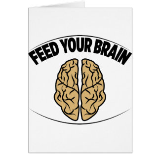 FEED YOUR BRAIN CARD