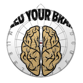FEED YOUR BRAIN DARTBOARD