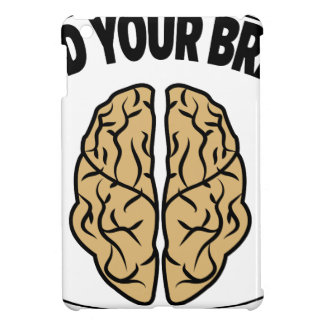 FEED YOUR BRAIN iPad MINI CASE