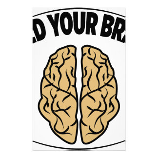 FEED YOUR BRAIN STATIONERY