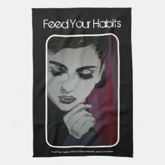 'Feed Your Habits' American MoJo Kitchen Towel