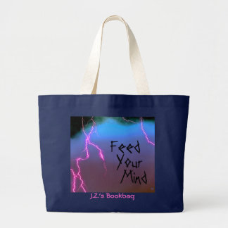 Feed Your Mind Personalized Bag