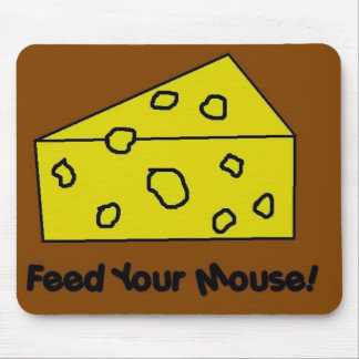 Feed Your Mouse Mouse Pad