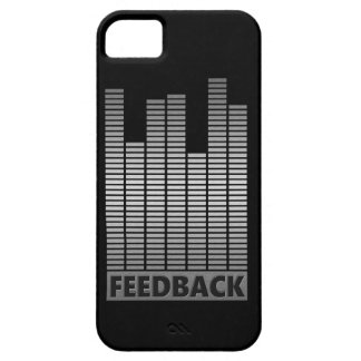 Feedback concept. iPhone 5 cover
