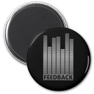 Feedback concept. magnet