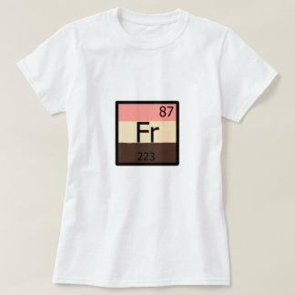 Feeder Pride Francium Element T-shirt Feedist Flag