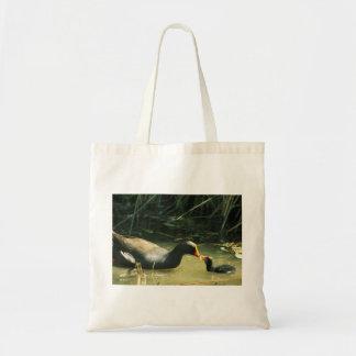 Feeding Baby Budget Tote Bag