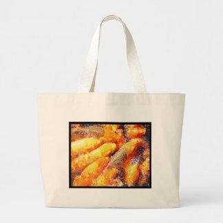 feeding frinzy.jpg canvas bags