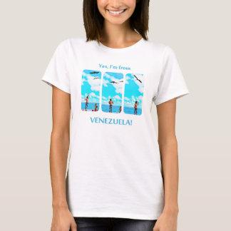 feeding seabirds in Morrocoy, I'm from Venezuela T-Shirt