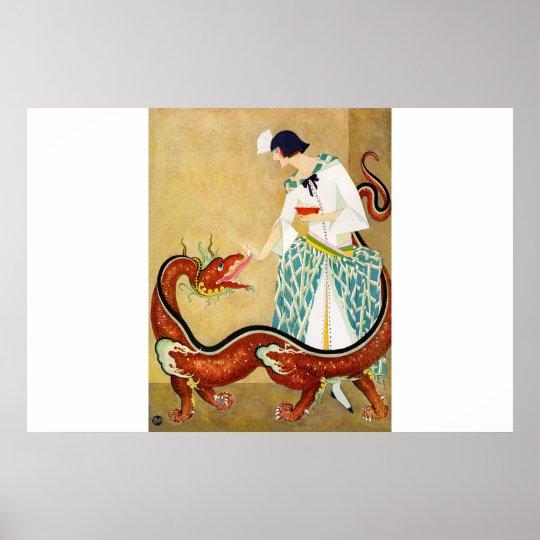 feeding the dragon poster