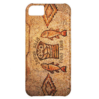 Feeding the Multitude with 5 Loaves and 2 Fishes iPhone 5C Covers