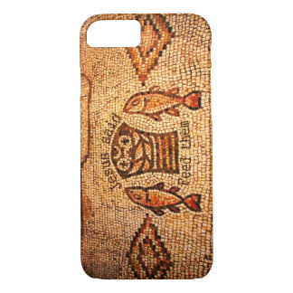 Feeding the Multitude with 5 Loaves and 2 Fishes iPhone 7 Case