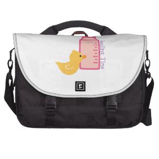 Feeding Time Laptop Messenger Bag