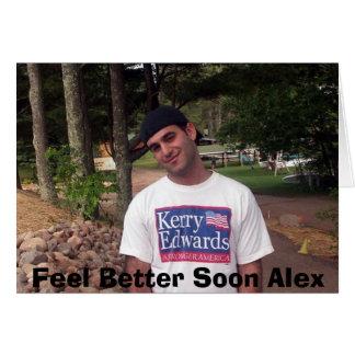 Feel Better Alex Card