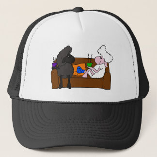 Feel Better Sheeple Trucker Hat