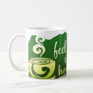 Feel Fit And Right, Take A Sip Of Healthy Goodness Basic White Mug