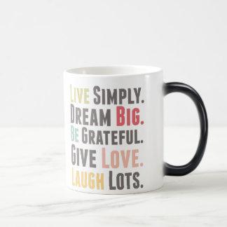 Feel Good 11 Oz Magic Heat Color-Changing Coffee Mug