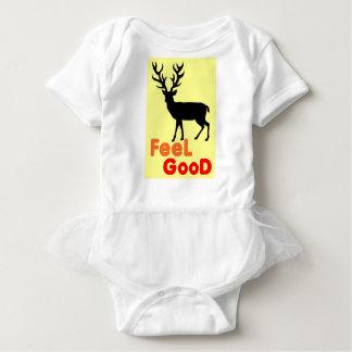 Feel good Deer shadow Baby Bodysuit