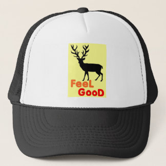 Feel good Deer shadow Trucker Hat