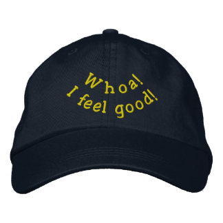 Feel Good hat Embroidered Baseball Caps