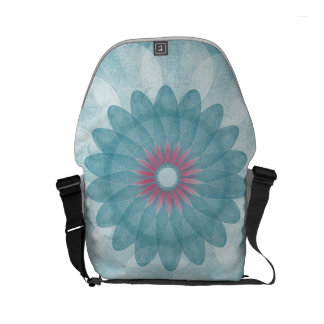 Feel Good Mandala:: Curing ashes:: small Commuter Bag