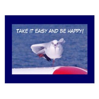 Feel Good - Motivations Postcard