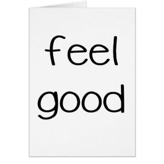feel good png greeting card