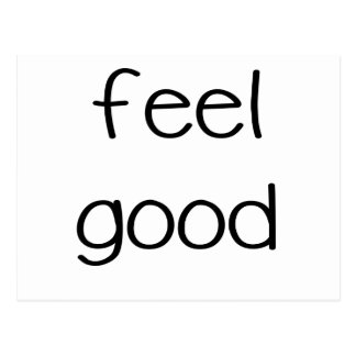 feel good png post card