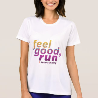 Feel Good RUN - FATNOMORE Runner Inspiration T-Shirt